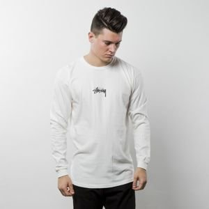 Stussy longsleeve Stock Pig Dyed LS Tee natural