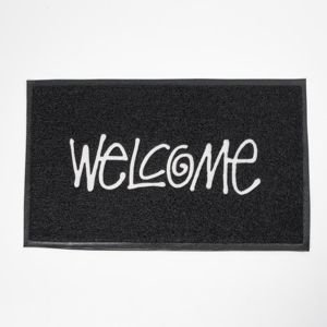 Stussy rug PCV Welcome Mat black