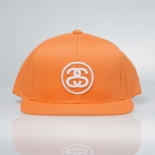 Stussy  snapback SS - Link SP17 Cap orange