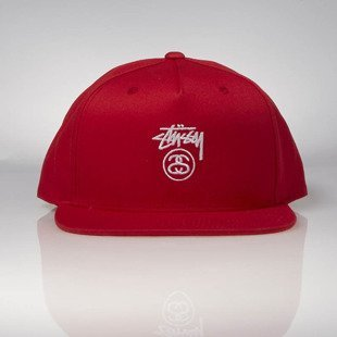 Stussy  snapback Stock Lock SU17 Cap red