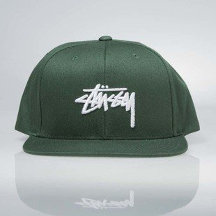 Stussy  snapback Stock SP17 Cap green