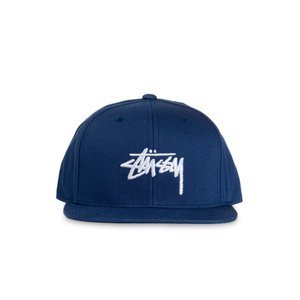 Stussy snapback Stock SP17 Cap navy