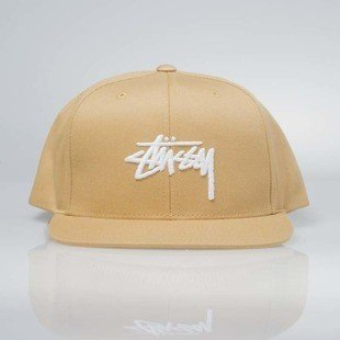 Stussy  snapback Stock SP17 Cap yellow