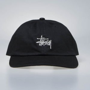 Stussy strapback Stock Low Pro Cap black