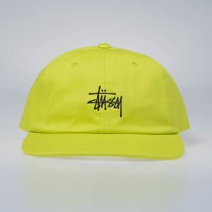 Stussy strapback Stock Low Pro Cap lime