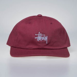 Stussy strapback Stock Low Pro Cap red