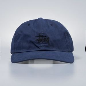 Stussy strapback Wax Cotton Low Pro Cap blue