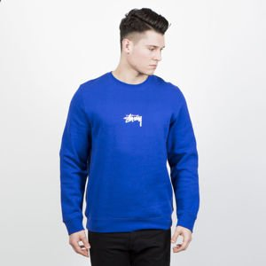 Stussy sweatshirt Stock Crew dark blue