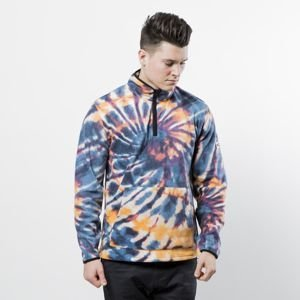 Stussy sweatshirt Tie Dye Polar Fleece Mock multi
