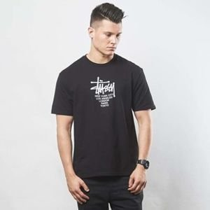 Stussy t-shirt Big Cities Tee black