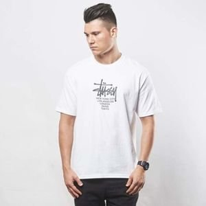Stussy t-shirt Big Cities Tee white