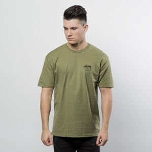 Stussy t-shirt Don't Scratch Tee - olive