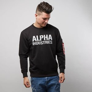 Sweatshirt Alpha Industries Camo Print Sweat black / white