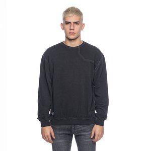 Sweatshirt Backyard Cartel Combat Crewneck washed black SS2017