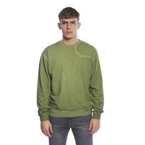 Sweatshirt Backyard Cartel Combat Crewneck washed khaki SS2017