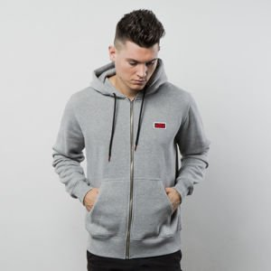 Sweatshirt Koka Classic Boxlogo Hoodie Zip  heather grey