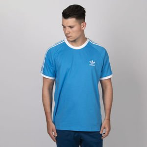 T-shirt  Adidas Originals 3-Stripes Tee shock cyan