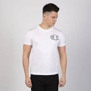 T-shirt Champion Embroidery Logo Rochester white