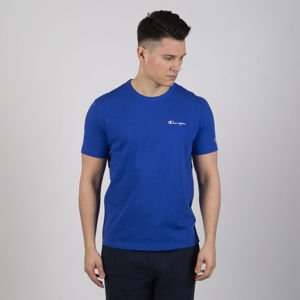 T-shirt Champion Logo Reverse Weave blue