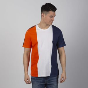T-shirt Champion Reverse Weave Handmade T-shirt white/orange/navy