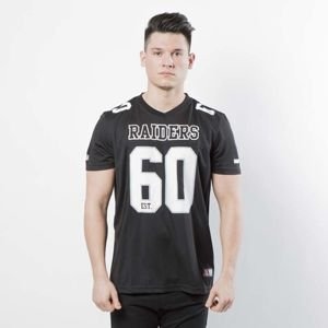 T-shirt Majestic Athletic Abris Polyester Jersey Raiders black