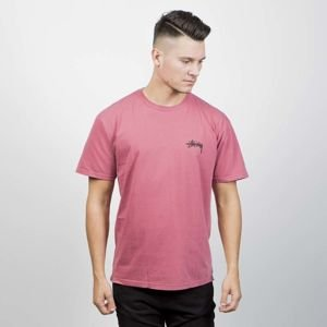 T-shirt Stussy 8 Ball Pig. Dyed Tee raspberry