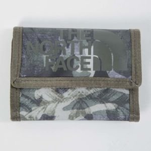 The North Face Base Camp Wallet english green tropical camo T0CE693NX