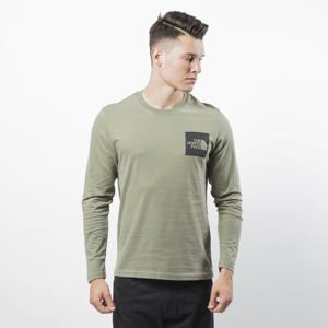 The North Face M L/S Easy Longsleeve Fine Tee deep lichen gree