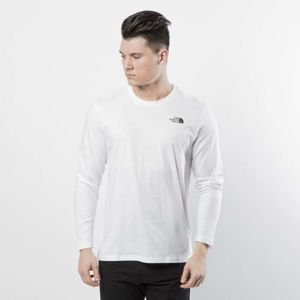 The North Face M L/S Easy Longsleeve Tee tnf white T92TX1FN4