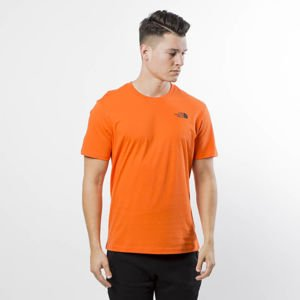 The North Face T-Shirt M S/S Red Box Tee persian orange