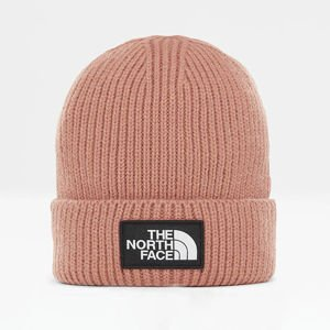 The North Face TNF Logo Box Cuf Beanie misty rose T93FJX3YM