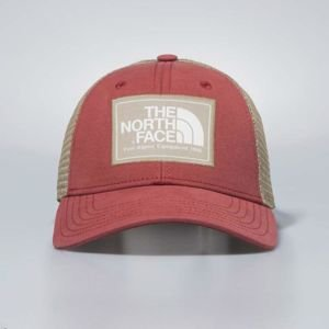 The North Face snapback Mudder Trucker Hat bossa nova red / kelp tan / vintage white T0CGW24BR