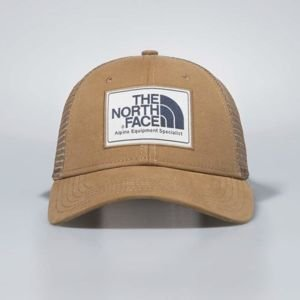 The North Face snapback Mudder Trucker Hat cargo khaki / vintage white / urban navy T0CGW21UP