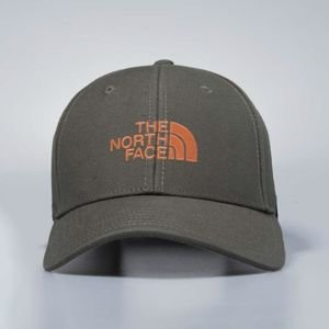 The North Face strapback 66 Classic Hat weimaraner brown / weathered orange T0CF8C1WS
