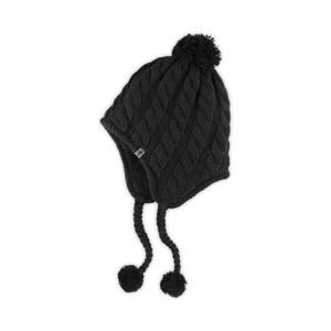 The North Fuzzy Earflap Beanie WMNS tnf black T0APDBKX7