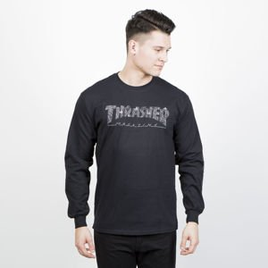 Thrasher Longsleeve Web black