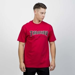 Thrasher x Independent Regular T-shirt cardinal red