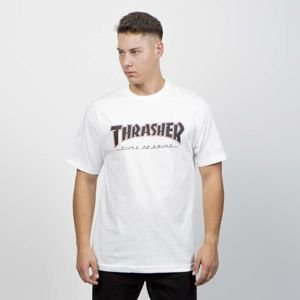 Thrasher x Independent Regular T-shirt white