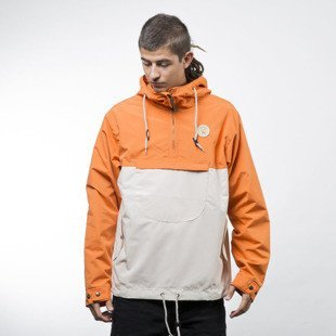 Turbokolor Jacket Freitag orange / beige
