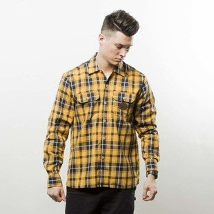 Turbokolor Shirt Flannel Earth Scottish Tartan yellow