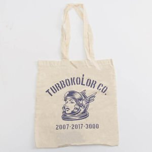 Turbokolor Tote Bag Astro ecru