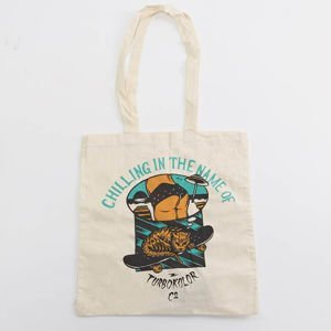 Turbokolor Tote Bag Chilling ecru
