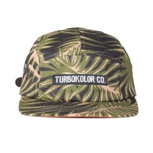 Turbokolor strapback 5Panel Deck Crew palm muster camo