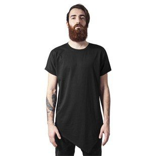 Urban Classics Asymetric Long Tee black