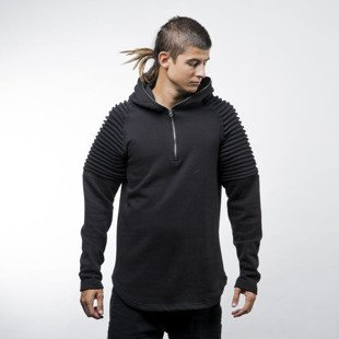 Urban Classics Pleat Sleeves Terry Hoody black (TB1413)