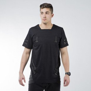 Urban Flavours Armstrong Stripe T-shirt black