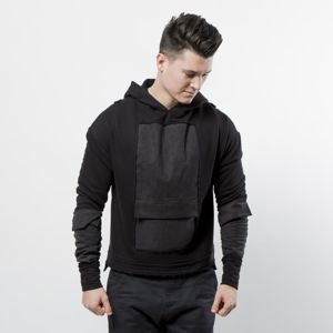Urban Flavours Mental Pocket Hoodie black