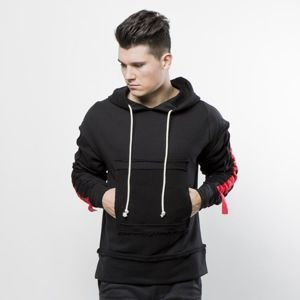 Urban Flavours Stripe Red Hoodie black / red