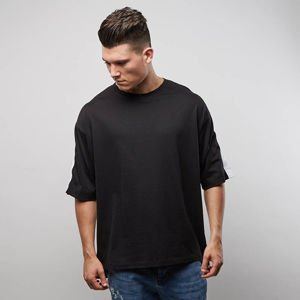 Urban Flavours t-shirt Stripe Oversized black / black