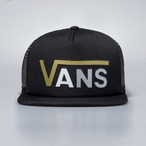 Vans snapback Beach Girl Flying Cap black / white / gold  VA3ILGB5T